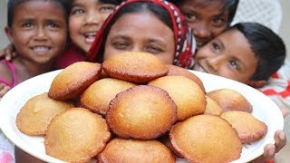 Village Food Teler Pitha Recipe Sweet Pakan Pitha How To make Teler Pitha Cooking Village Style