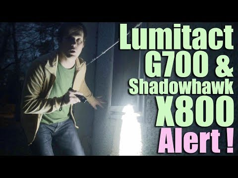 Ultimate Lumitact G700 LED Tactical Flashlight and Scam Review (Comments on Shadowhawk X800)