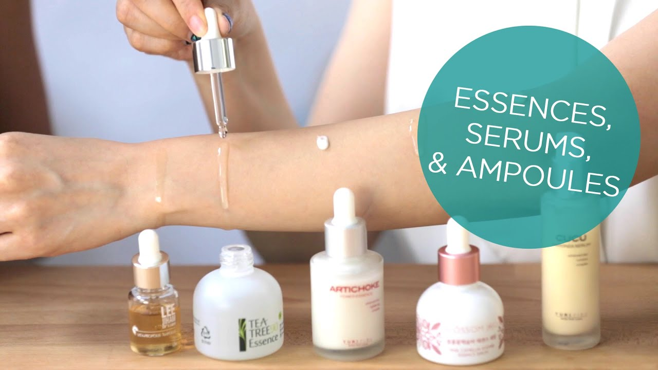 Essence Ampoules And Serums Decoding K Beauty Treatments Youtube