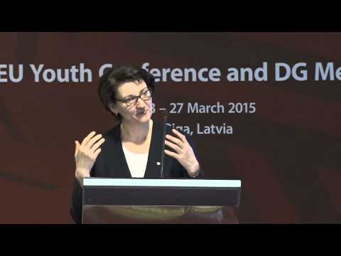 Official opening of the EU Youth Conference