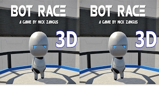 3D TV VR box stream BOT RACE стрим 3Д Side by Side SBS