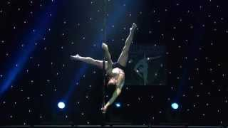 Georgiadis Vangelis - Champion Men Division - Greek Pole Dance Championship 2015 by Rad Polewear