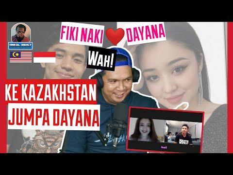 Fiki Naki ke Kazakhstan jumpa Dayana! Wah!! - Ome.TV Internasional-Malaysia Reaction