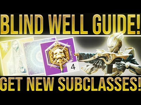 Destiny 2. ULTIMATE BLIND WELL GUIDE! Get New Supers, Dreaming City Loot, Riven s Curse, Loot from YouTube · Duration:  9 minutes 13 seconds
