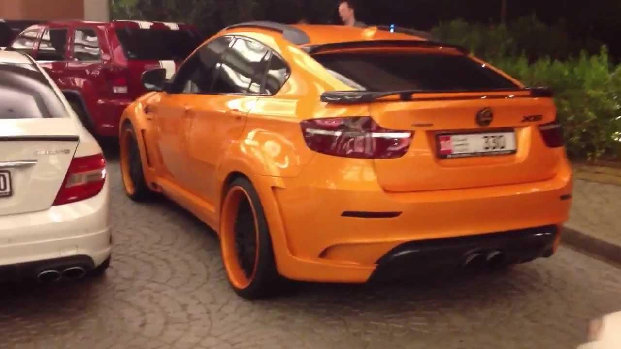 orange/carbon fibre Hamann BMW X6 M - walk around MoE ...