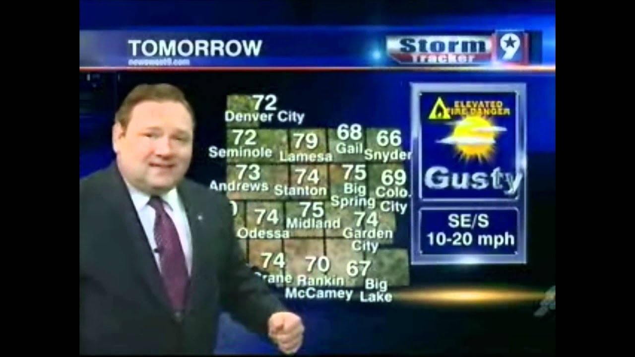 NewsWest 9 Weather @ 10 p.m. 11-17-11 - Weathercast - YouTube