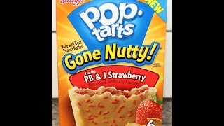 Pop Tarts: Gone Nutty Pb&j Strawberry Review