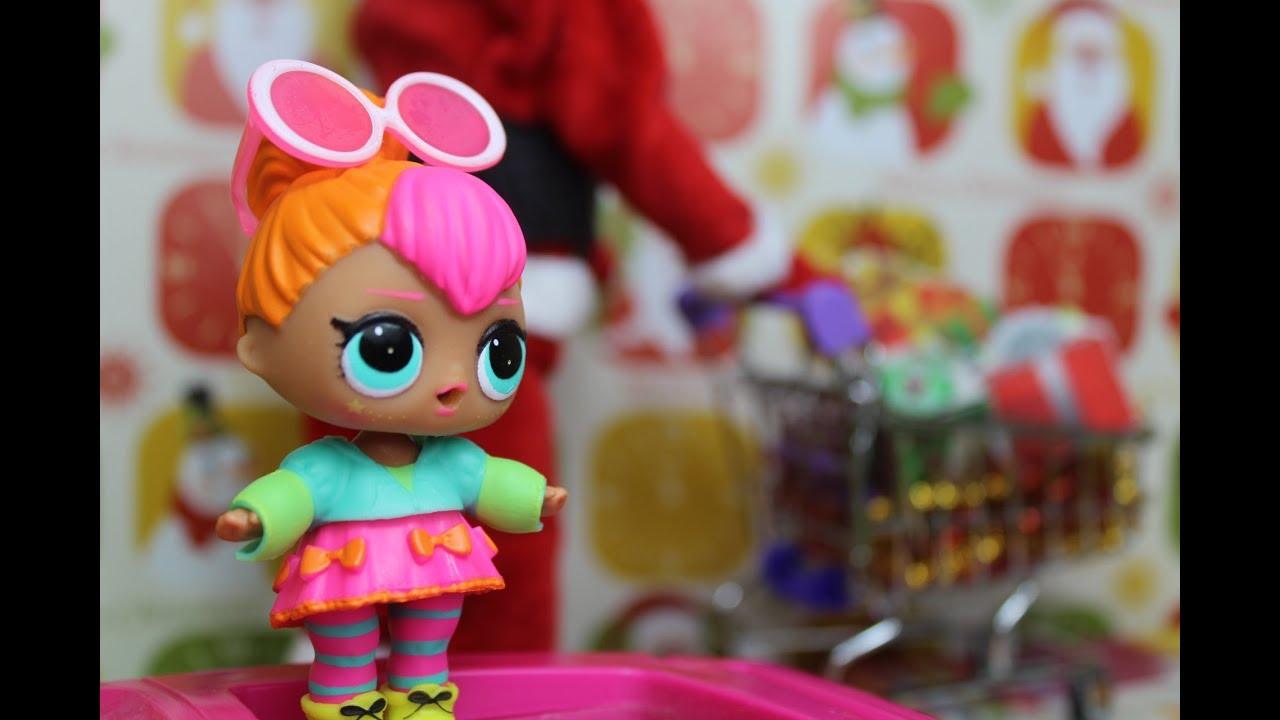 Кукла ЛОЛ СЮРПРИЗ и Барби в магазине. ВИДЕО для девочек ...