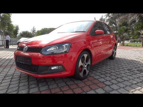 2012 Volkswagen Polo GTI Start-Up and Full Vehicle Tour