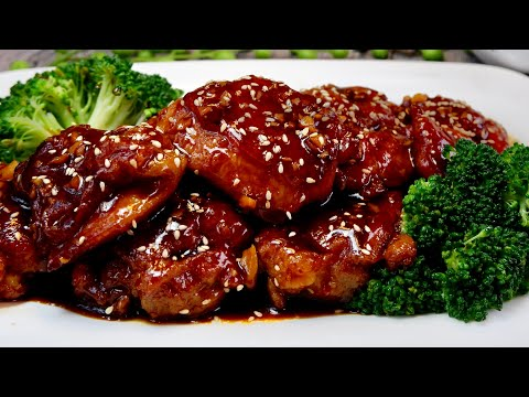 A Super Easy Restaurant-Worthy Recipe! Chicken Chop in Plum Sauce 梅子酱鸡扒 Chinese Pan Fried Chicken