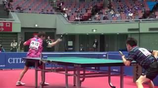 平成30年度全日本卓球選手権大会/男子シングルス6回戦 丹羽孝希VS濵川明史
