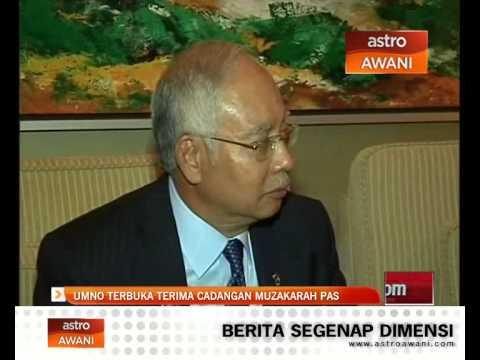 UMNO terbuka terima cadangan muzakarah PAS