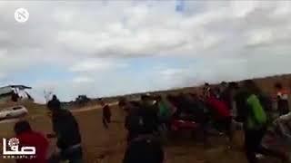 עימותים באזור חאן יונס, לפני הצהריים