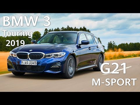 NEW BMW 3 Touring 2019 G21 and BMW 1 Series 2019 - TESTED!