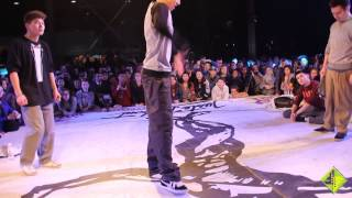Juste Debout Kazakhstan - 1/2 Popping Battle - Baturo/Dauren vs. Amal/Tilan