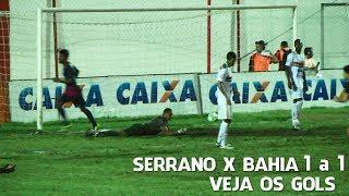 Serrano e Bahia empatam em 1 a 1 em Teixeira de Freit