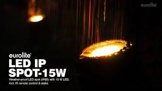 Eurolite LED IP Spot-15W RGBW Outdoor Spot with Stake