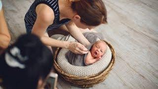 Позирование новорожденных часть 2