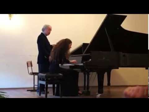 Андраш Шифф, мастер-класс/ANDRAS SCHIFF masterclass W A Mozart, Fantasie d moll