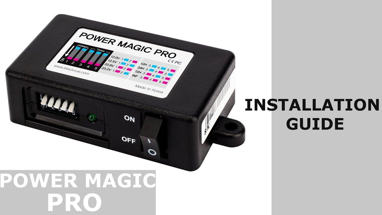 medium resolution of blackvue power magic pro installation guide