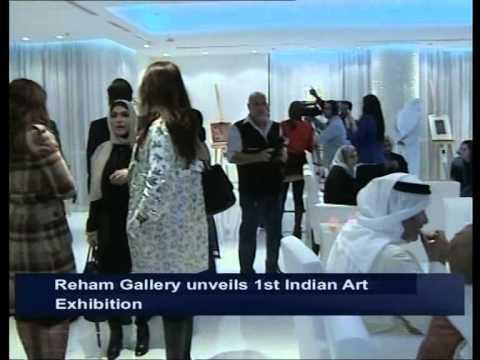 Reham Gallery unveils First Indian Art Exhibition in Kuwait