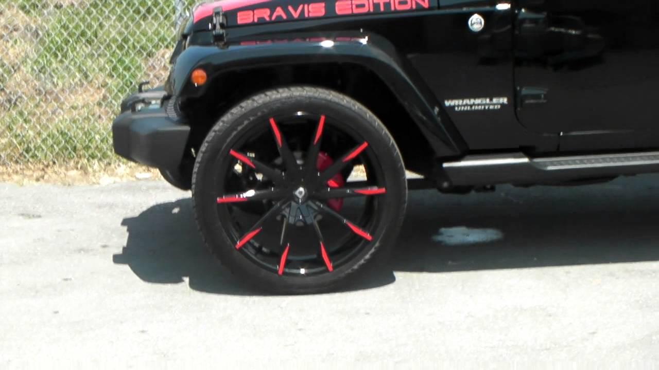 "877-544-8473 24"" Inch Lexani CSS-15 Black Wheels 2015 Jeep ..."