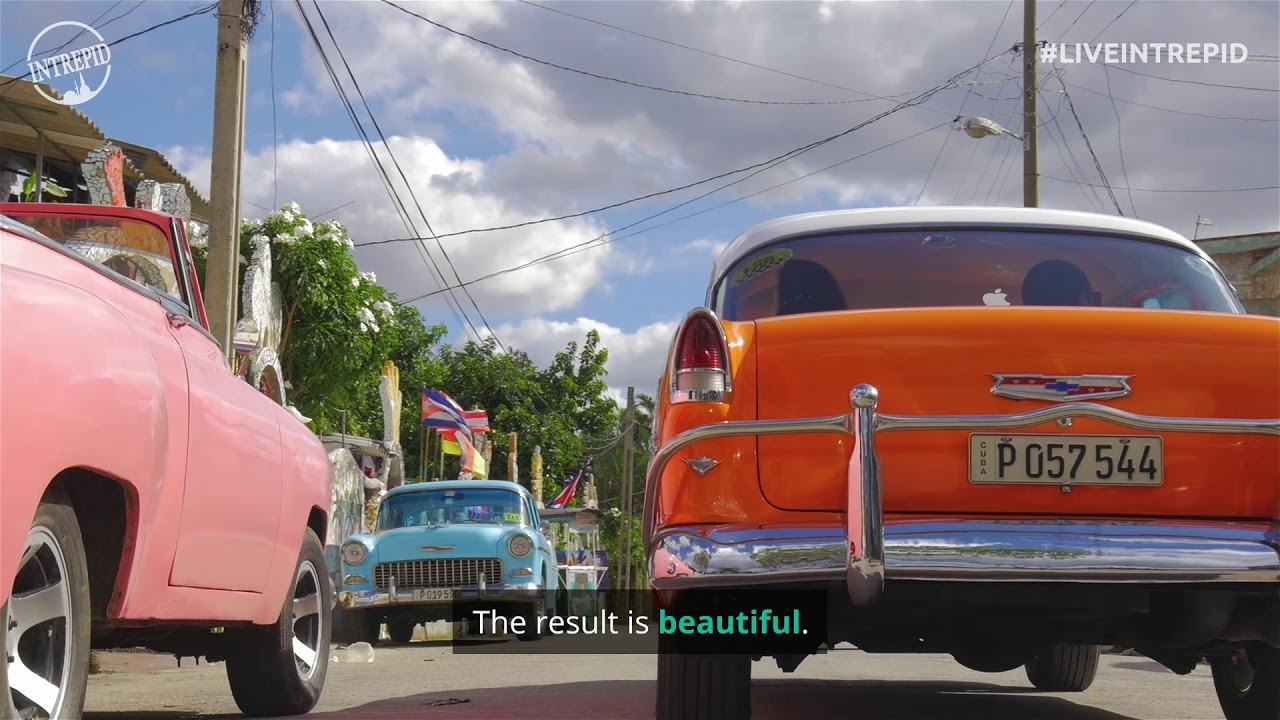 Old-school Cool: Cuba\'s Classic Cars - YouTube