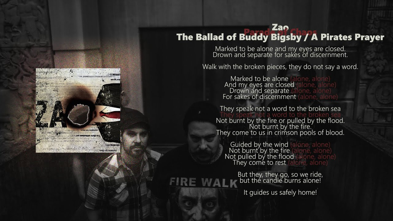 Zao Parade Of Chaos The Ballad Of Buddy Bigsby And A