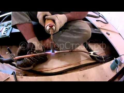 Соединение и пайка медных трубок для кондиционера
