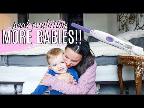 PEAK OVULATION DAY SYMPTOMS ���� TTC BABY #2