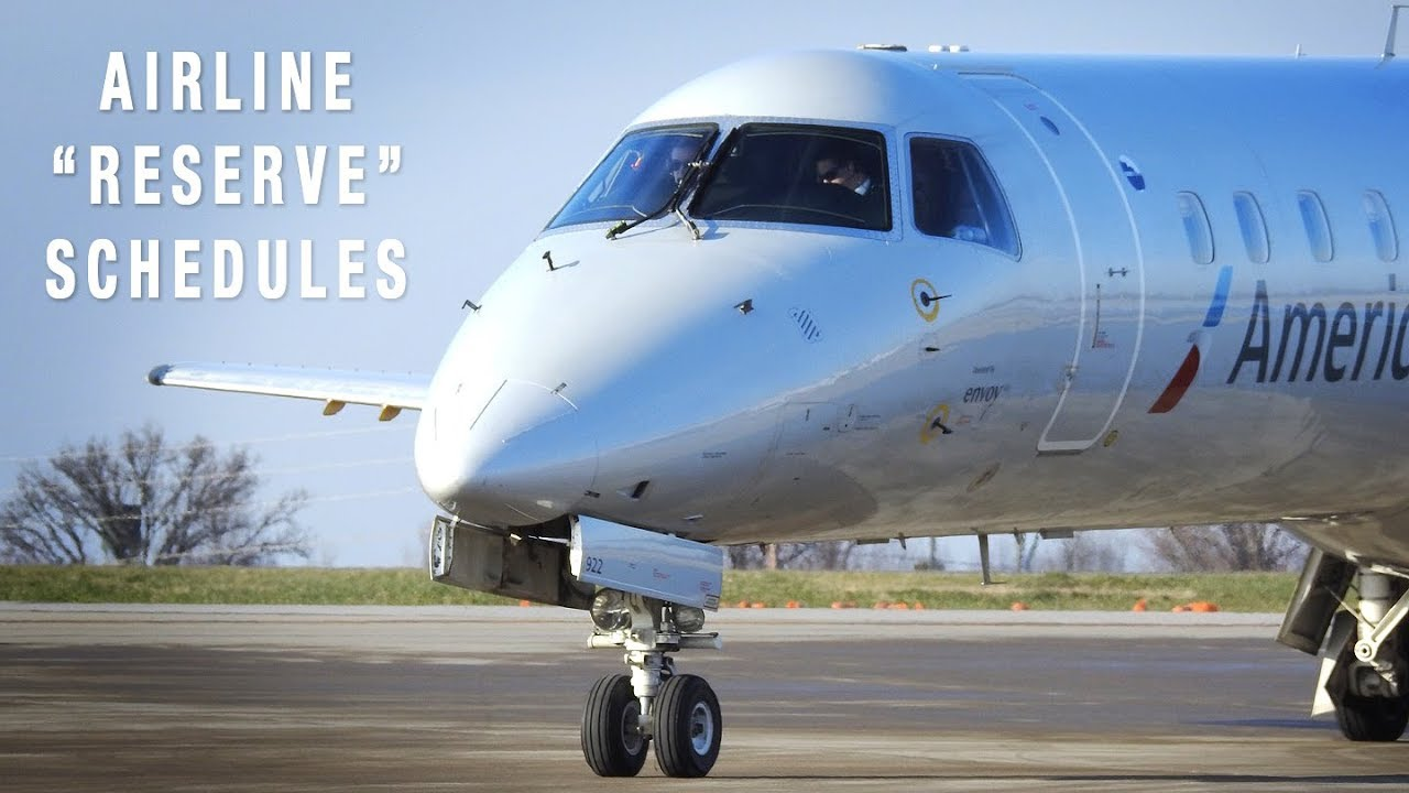 Airline's Most Junior Pilot = Reserve Schedule