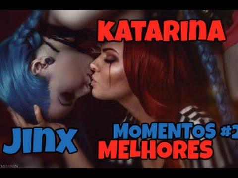 MELHORES MOMENTOS #2 ( HIGHLIGHTS ) Katarina l Jinx - League of Legends [PT-BR]