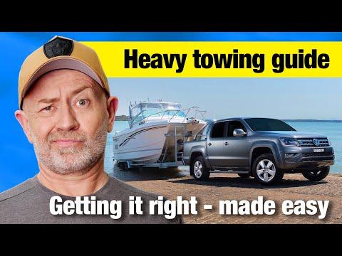 Complete guide to heavy towing (GVM, GCM & ATM explained) | Auto Expert John Cadogan