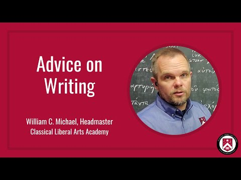 Advice to Students on Writing