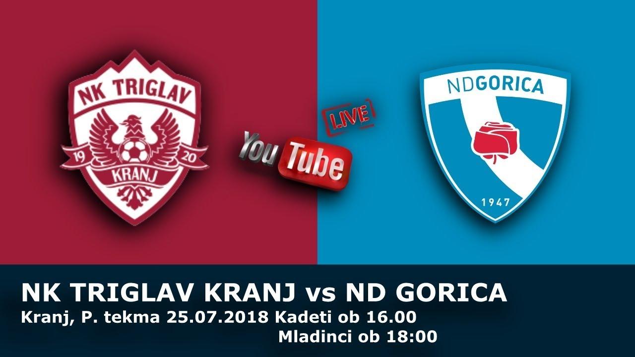 Live Stream U17/19 - Triglav Kranj : Gorica - 09-03-2019
