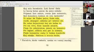 22 | Sinjoro Tadeo 3: 312-413 | Pan Tadeusz – 에스페란토 판 타데우시 3권 공부 (zoom)