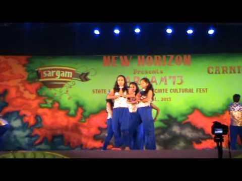 Bappa Moriya Dance NHCE Sargam'13