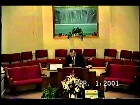 """Dr. Robert W. Boofer - """"Life in the Penalty Box"""" 4/1/01"""