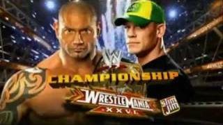 Wrestlemania 26 Full Match Card