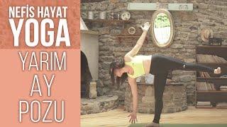 ARDHA CHANDRASANA | Stres ve Endişeyi Azaltan ve Karnı Güçlendiren Duruş | Gözde İle Yoga