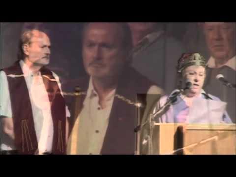 [CH2012001] Cadair yr Eisteddfod / Sillón Bardico: Gwynedd Huws Jones