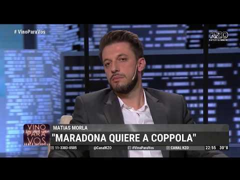 """""""Coppola es otra herida que Diego tiene en el alma. Lo quiere."""""""