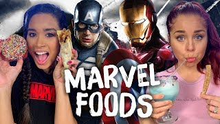 Trying Foods from Marvel Movies! (Cheat Day)