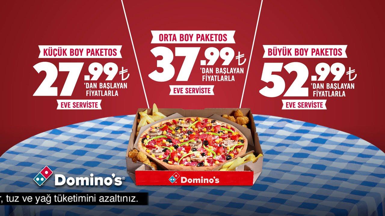 Domino's İftar Sofranızda Paketos'la Yanınızda!