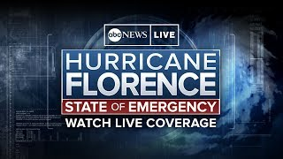 Watch Live Hurricane Florence Storm Coverage