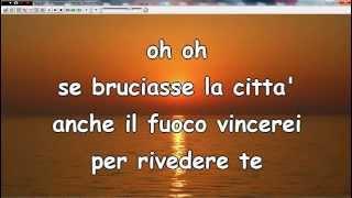 Se bruciasse la città - Nina Zilli (karaoke+testo) Ascoli Satriano (Fg)