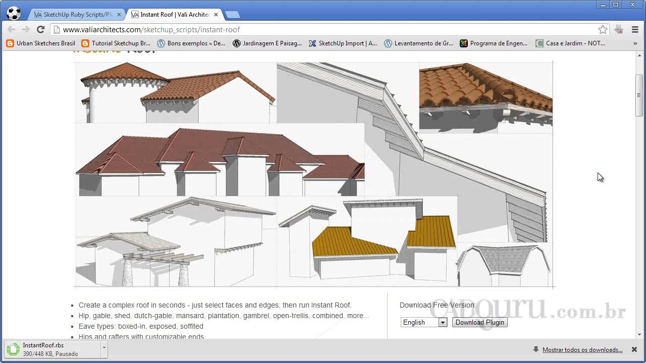 Complex Roof Sketchup Amp Sc 1 St Sketchup Extension Warehouse