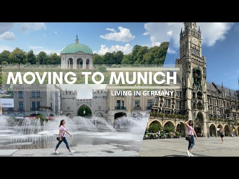 Moving to MUNICH, Germany 🇩🇪 | Room Tour