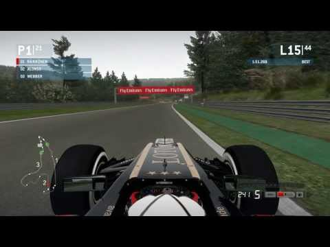 F1 2013 - Spa-Francorchamps (Full race - 44 laps)