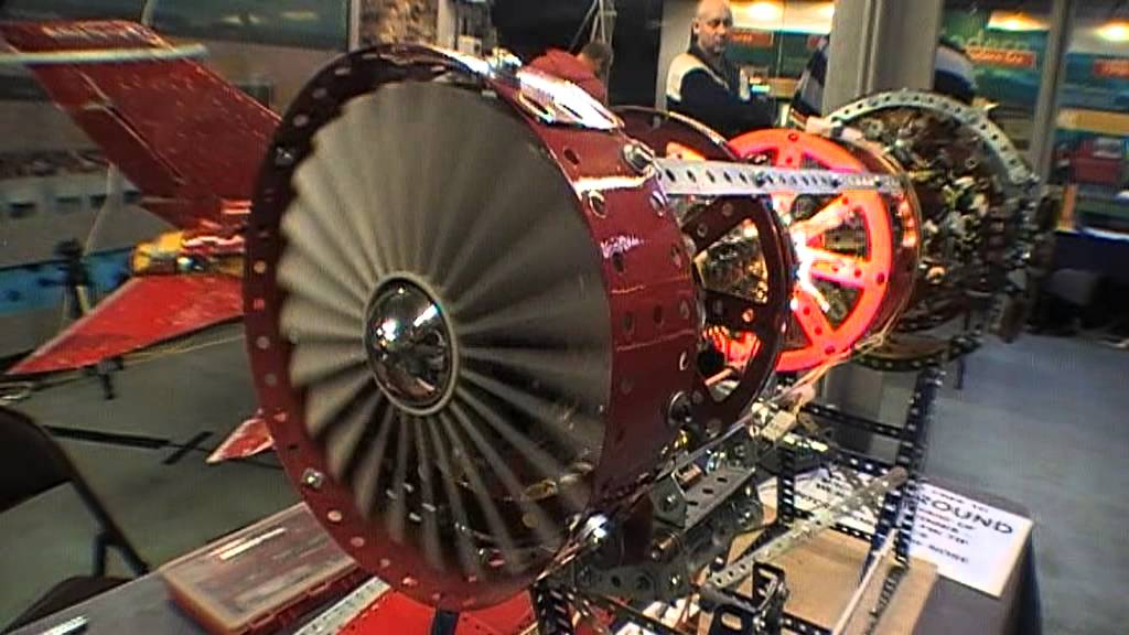 how to make a jet engine model
